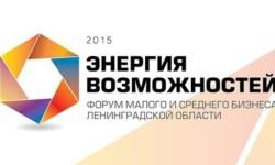 Форум представителей малого и среднего бизнеса Ленинградской области «Энергия возможностей»